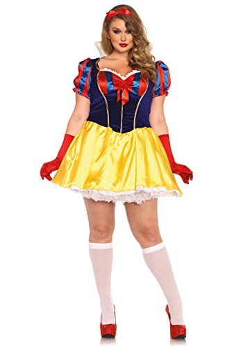 Leg Avenue Poison Apple Princess Kostuum (grootte 1X - 2X, meerkleurig)