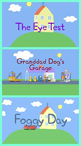 Storybook Collection: The Eye Test, Granddad Dog\'s Garage and Foggy Day - Great Picture Book For Kids (English Edition)