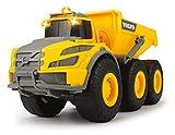 Dickie Toys Volvo Knickgelenkter Dumper, Kipper, Muldenkipper, Kipplaster, Baufahrzeuge Kinder,...