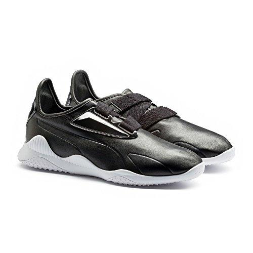Puma Mostro Milano Herren-Sneaker, knöchelhoch, Leder, Schwarz (schwarz), 38.5 EU