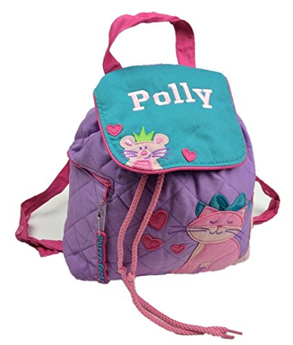 Personalised 'Pink Cat' Backpack / Ruck Sack. Great Childs Gift Back To School Nursery