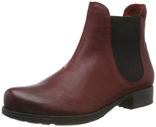 Think! Damen Denk_585027 Chelsea Boots, Rot (Rosso 70), 42 EU