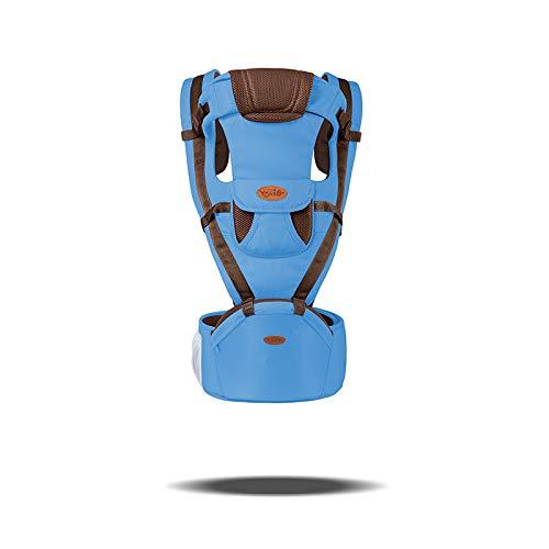 0-36 mois bébé porte-siège pour hanche 360 toutes les positions transporteurs nouveau-né bambin écharpe pour bébé et maman papas grand cadeau de Shower de bébé-blue