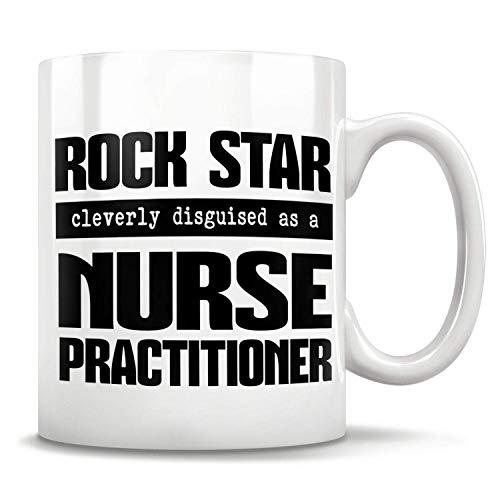 Lawenp Regalo para enfermera, regalo de graduación, taza de practicante, taza, regalo de estudiante de enfermería, regalo de practicante, taza de practicante, Future Np 11 oz