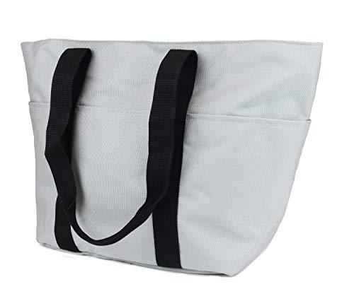Frentree Nylon Tasche Shopper Handtasche robust & reißfeste Stofftasche praktisch vielseitig für Strand, Einkaufen, Schule, Büro