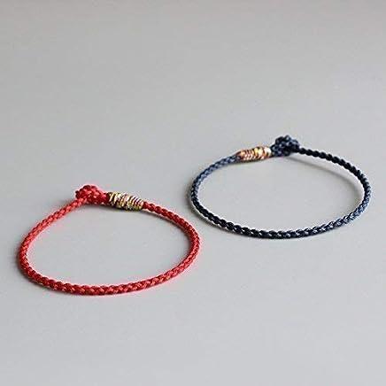 TALE Lucky Rope Bracelet Tibetan Buddhist Hand Braided Knots - Matching Bracelets