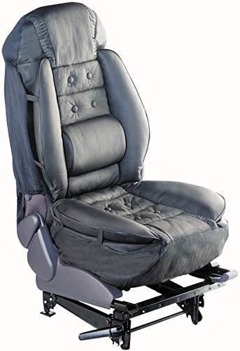 Westfalia Ergonomische Sitzauflage fürs Auto Lederimitat Komfortsitz