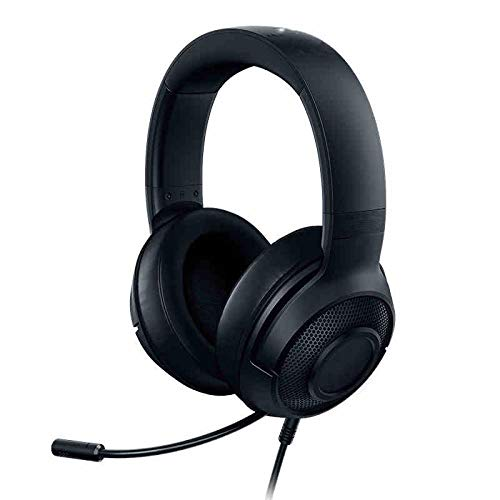 Gaming Headphones 7.1 Surround Sound Stereo over Ear Computer Game Headset with Lights for Pc Gamer, A