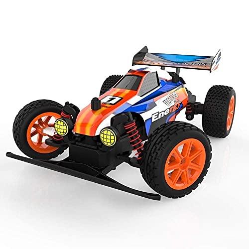 Coche de control remoto, coche de control remoto para niños, tracción en las cuatro ruedas, eléctrico de alta velocidad de 2,4 Ghz, control remoto, carreras, luz de suspensión, PVC, plástico, carga,