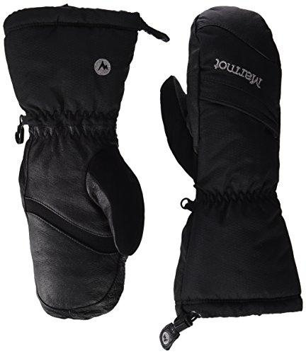 Marmot Damen Ski Handschuhe Warmest Mitt, True Black, 3, 1541-1332-3