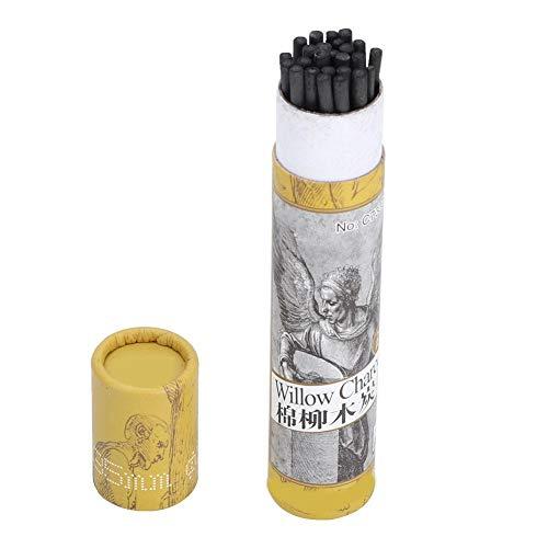25pcs Charcoal Sticks, Artist Willow Vine Sketch Charcoal Sticks Sketch Charcoal Pencils zum Zeichnen(7330)