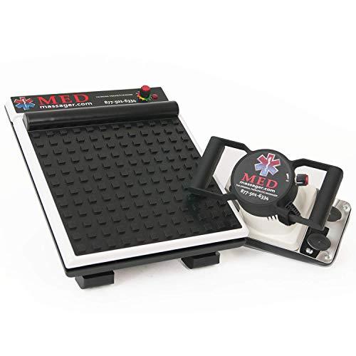 MEDIMASSAGER MMB04B Variable Speed Body & Foot Massager Combo