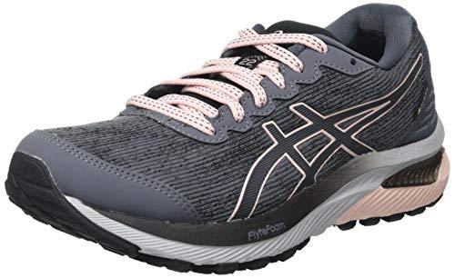 Asics Gel-Cumulus 22 G-TX, Road Running Shoe Mujer, Carrier Grey/Ginger Peach, 38 EU