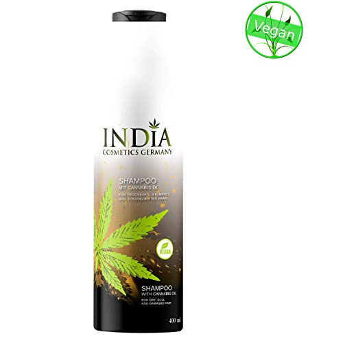 Champú con aceite de cannabis en calidad superior 400ml tamaño XXL