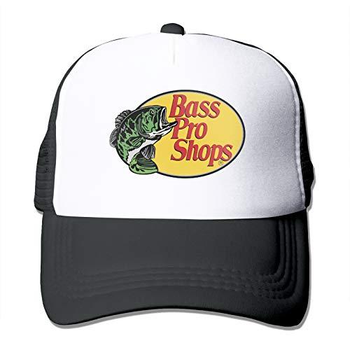 Bass-Pro Shop Men's Baseball Cap Mesh Back Snapback Funny Trucker Hat