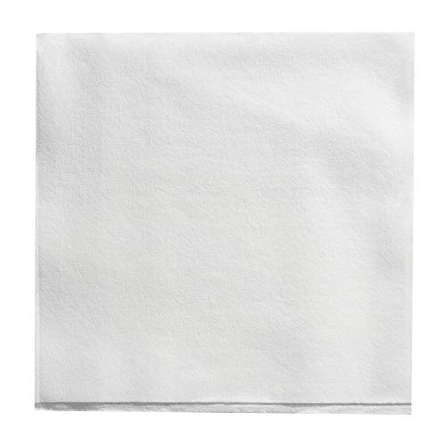 Dixie Ultra 1/4-Fold Linen Replacement Dinner Napkin (Previously Branded Essence Impressions) by GP PRO (Georgia-Pacific), White, 92114, 100 Napkins Per Box, 8 Boxes Per Case