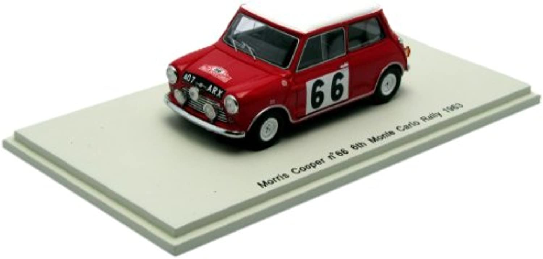 Spark – S1188 – Fahrzeug Miniatur – Morris Cooper – 6th Monte Carlo 63 – Maßstab 1 43 B006OMN5U0 Mangelware  | Großer Räumungsverkauf