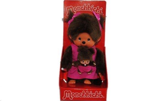 alles-meine.de GmbH Mutter mit Kind MONCHHICHI MONCHICHI Girl Mädchen rosa pink Kleid Baby Mamma