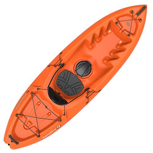 Emotion Spitfire Sit-On-Top Kayak, Orange, 9'