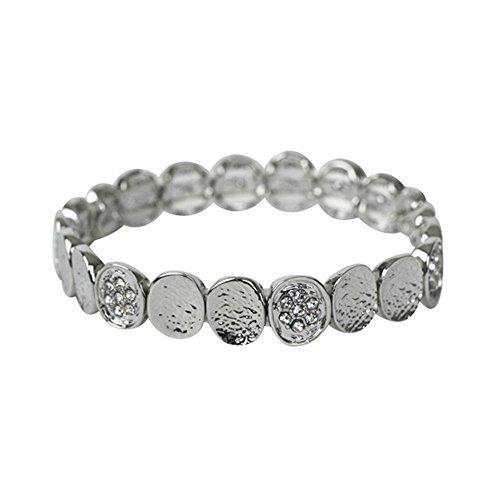 THE MOSHI Cora Armreifen elastisch Silber
