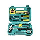 Schneespitze Kits De Herramientas De Reparación,Caja De Herramientas De Hardware Juego De Herramientas Multifuncionales Para el hogar, reparación de garajes