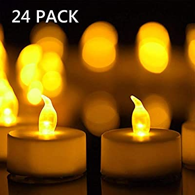 CANDLE CHOICE Led Flickering Flameless Candles Realistic Flames Battery Powered