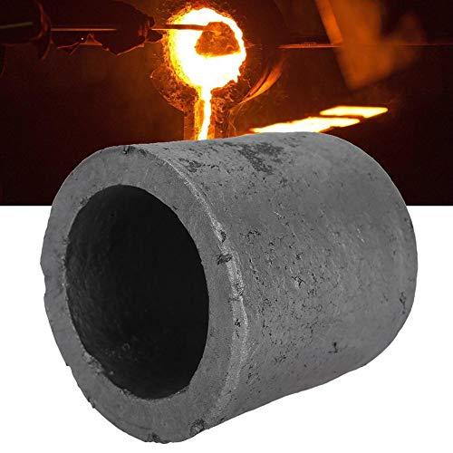 TMISHION Crisol de Grafito, Grafito de Carburo de Silicio Forma de Copa Herramienta de Fusión de Crisol Copa Horno Antorcha Fundición Colada para Fundición de Chatarra de Metal de Joyería