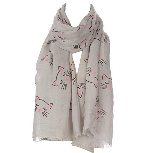 MEIBAOGE - Pañuelo Fino Volie para Mujer