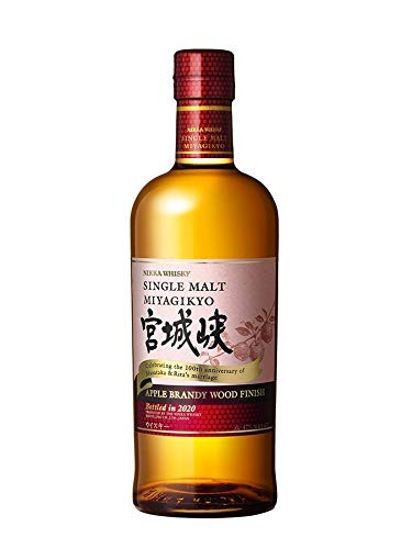 Nikka Miyagikyo Apple Brandy Finish Japanese Single Malt 0,7 Liter 47% Vol.