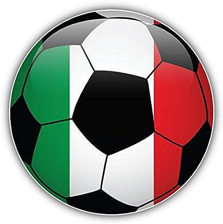 KW Vinyl Magnet Italy Flag Glossy Soccer Ball Truck Car Magnet Bumper Sticker Magnetic 5