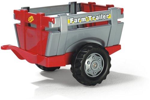 Rolly Toys S2612209 rollyFarm Trailer Anhänger Kinderfahrzeuge (Alter 2,5-10 Jahre, Heckklappe, Einachsanhänger) 122097