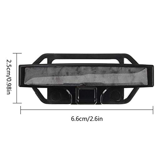 KOBWA Car Seat Belt Clip per Cintura Cinghie Regolabile Chiusura Fibbie di Regolazione di Tensione Grey Wood