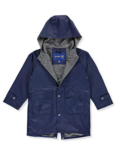 Wippette Unisex Raincoat - navy, 2t