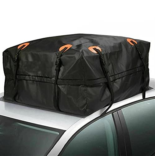 Box da Tetto Auto, Tessuto Oxford 420D Borsa Portatutto per Tetto Dell'auto Impermeabile Car Roof Top Bag per Viaggi in Auto Auto da Turismo Vans