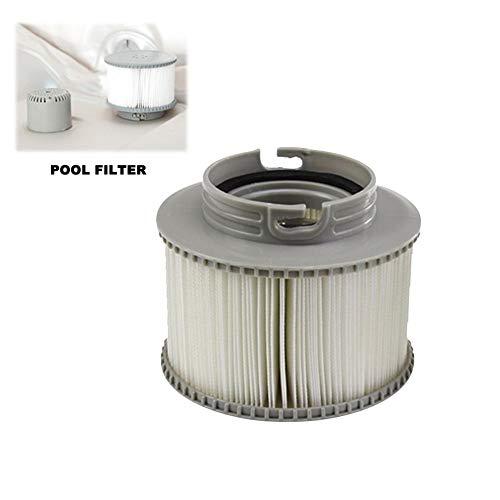 franktea Wannenfilter Filterpatronen für Schwimmbecken Sieb für alle Modelle Whirlpool-Spas Swimmingpool für MSPA-Hydropool- und Whirlpool Spas