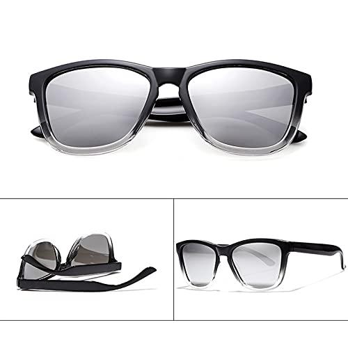 Amethyst Gafas de Sol para Hombres y Mujeres, protección UV400 polarizada, Marco liviano, es Adecuado para Comprar Gafas Deportivas para Conducir en Bicicleta,E