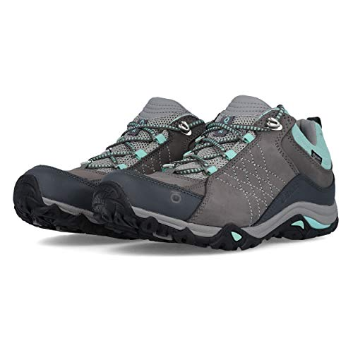 Oboz Sapphire Low B-Dry Hiking Shoe - Women's Charcoal/Beach 9.5
