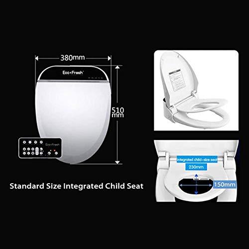 Smart Toilettensitz Electric Bidet Abdeckung intelligente Bidet Wärme sauber trocken Massage Pflege für Kinder Frau die alte, Modell 1 Kindersitz, USA
