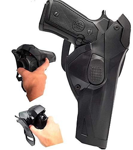 di vega holster Fondina per Pistola Beretta 98 92 FS con sgancio rapido da Cintura polimero