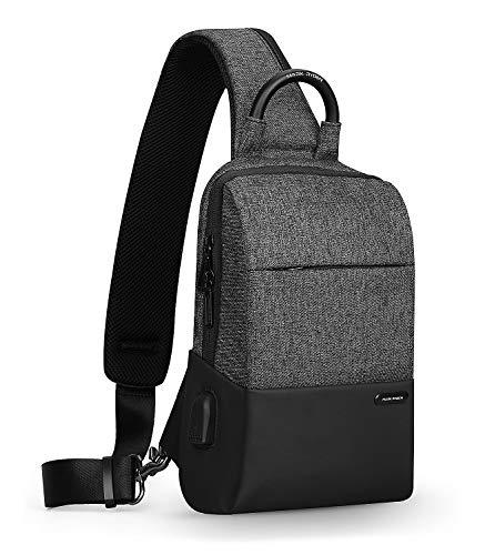 MARK RYDEN Anti-Theft Sling Chest Bag Handbag for Men Waterproof Crossbody Travel Shoulder Bag Fit for 9.7' ipad