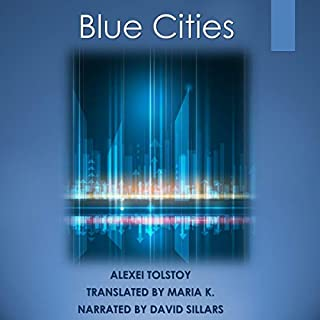 Blue Cities audiobook cover art