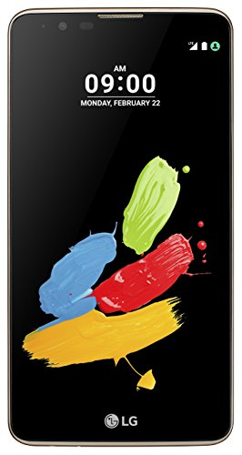 LG Stylus 2 Smartphone (14,5 cm (5,7 Zoll) Touch-Bildschirm, 16 GB interner Speicher, Android 6.0) braun
