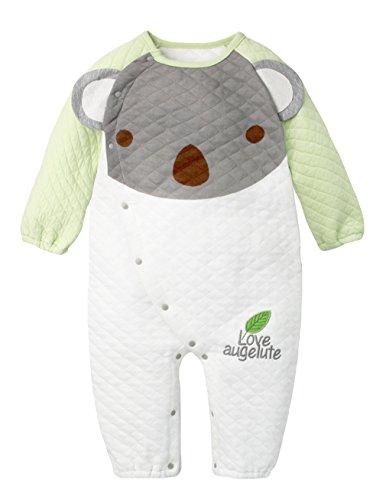 Y-BOA Grenouillère Barboteuse Pyjama Dors Bien Enfant Bébé Combinaison Hiver Automne Vert Size1