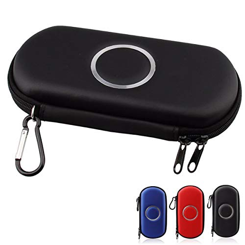 ELIATER PSP Carring Case Portable Travel Pouch Cover Zipper Bag Compatible for Sony PSP 1000 2000 3000 Game Console