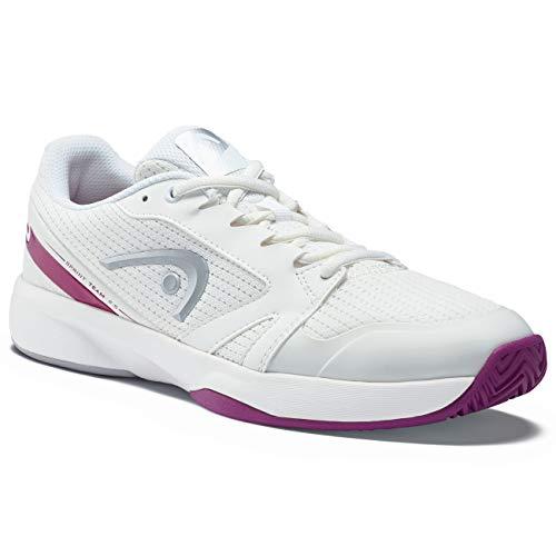 HEAD Sprint Team 2.5 - Zapatillas de Tenis para Mujer, Mujer, Zapatillas de Tenis, 274219-080, Color Blanco y Violeta, 42 UE