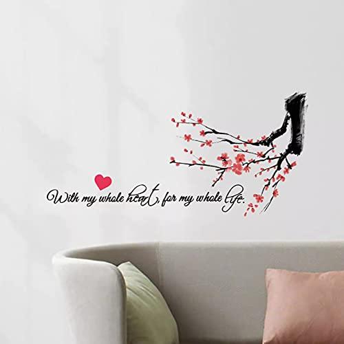 Calcomanía de vinilo para sala de estar, dormitorio, decoración del hogar, pegatina de pared Diy