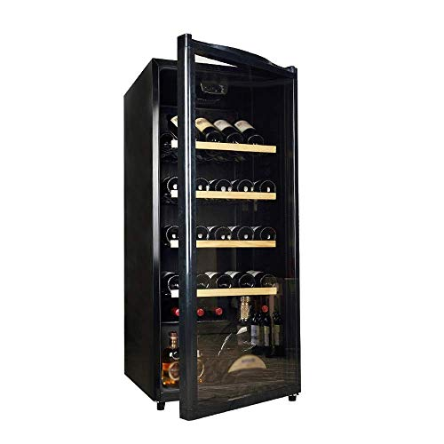 Home Thermostat Low Vibration Low Noise ice bar Wine Built-in Freestanding Wine Cooler Chiller Touch Control Air-Cooled