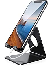 Lamicall Phone Stand: Universial Phone Holder Dock Cradle Compatible with Nintendo Switch, All Android Smartphone, Phone 11 Pro Xs Max XR X 8 7 7p 6 6s Plus, Accessories Desk