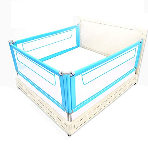 Great Deal! Z-SEAT Extra Tall Bed Rail, Foldable 3-Side Mesh Bed Guard with Storage Bag, Safety Guar...