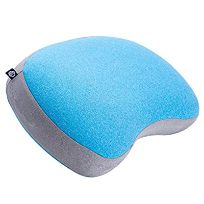 Leisure Co Ultralight Inflatable Camping Pillow - Soft Jersey Cotton with Lofted Cushion Layer for Comfort - Compressible and Easy to Inflate Air Pillows - Perfect for Camp Trips, Hiking, Backpacking